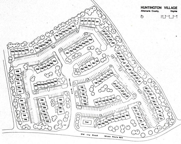 Huntington Village Layout Map